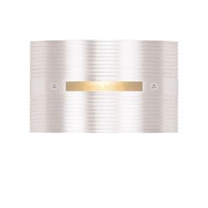 LED Steplights Matte White One Light Wall Mount