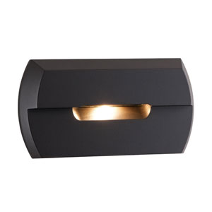 LED Steplights Bronze One Light Wall Mount
