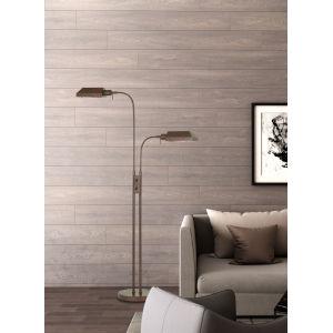 Pharmacy Rust Two-Light Floor Lamp