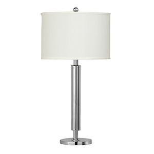 Neoteric Chrome One-Light Table Lamp