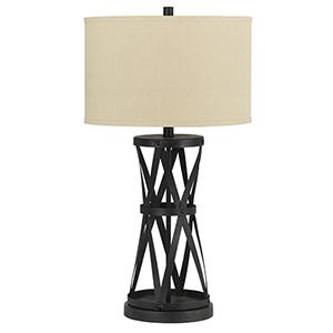 Passo Dark Bronze One-Light Table Lamp