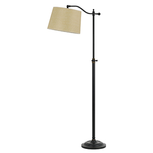 Wilmington Dark Bronze One-Light Floor Lamp