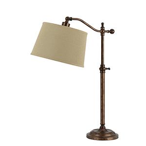 Wilmington Rust One-Light Table Lamp