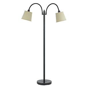 Gail Dark Bronze Two-Light Floor Lamp