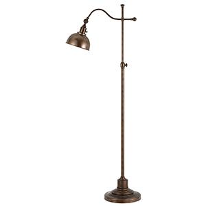 Portico Rust One-Light Floor Lamp