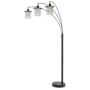Silverton Dark Bronze Three-Light Floor Lamp