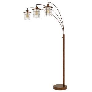 Silverton Rust Three-Light Floor Lamp