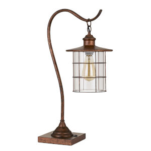 Silverton Rust One-Light Desk lamp