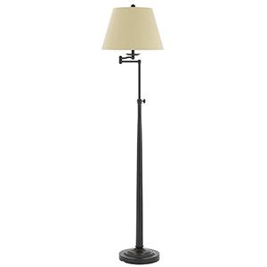 Madison Dark Bronze One-Light Floor Lamp