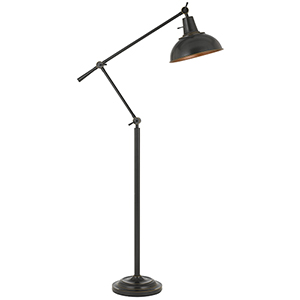 Eupen Dark Bronze One-Light Floor Lamp