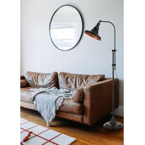 Taranto Dark Bronze One-Light Floor Lamp