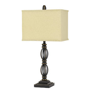 Mondovi Dark Bronze One-Light Table Lamp