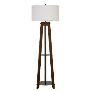 Bilzen Walnut One-Light Floor lamp