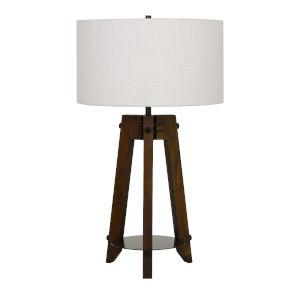 Bilzen Walnut One-Light Table lamp