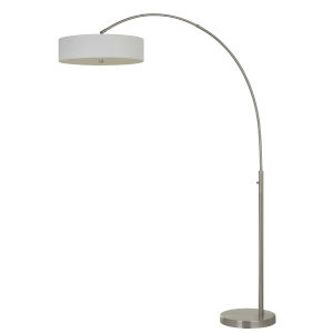 Chardon Brushed Steel Integrated LED Floor lamp