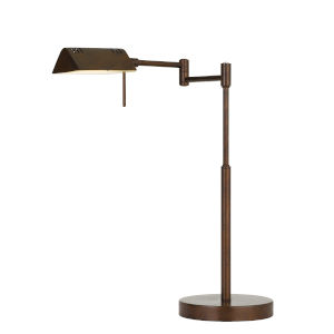 Clemson Rust Integrated LED Desk Lamp