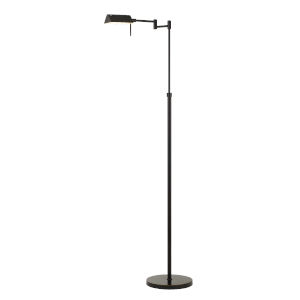 Clemson Dark Bronze Integrated LED Floor lamp