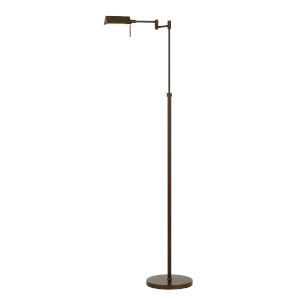 Clemson Rust Integrated LED Floor lamp