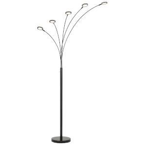 Cremona Dark Bronze Five-Light LED Floor Lamp