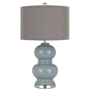 Bergamo Slate Blue One-Light Table lamp