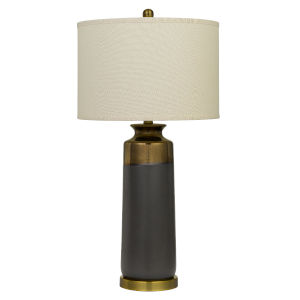 Lecce Copper and Gray One-Light Table lamp