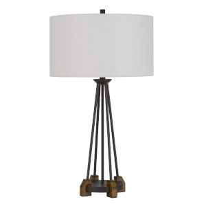 Bellewood Textured Bronze One-Light Table lamp