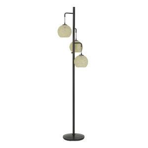 Sardis Black Three-Light Floor lamp