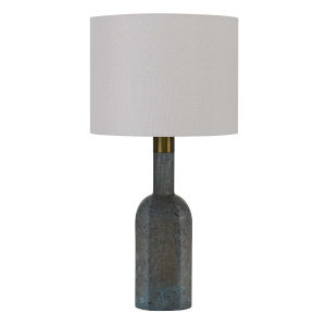 Ravenna Blue and White One-Light Table lamp