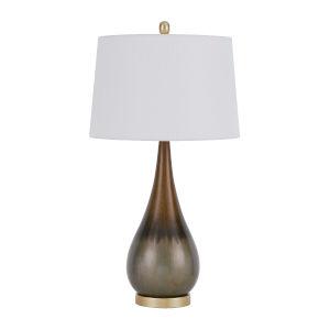 Carmi Taupe LED Table Lamp