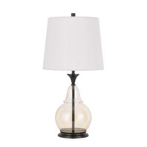 Kittery Clear Dark Bronze LED Table Lamp