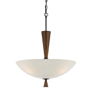 Verona Mahogany Two-Light Pendant