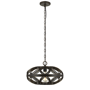 Alma Dark Bronze One-Light Pendant
