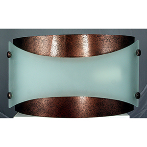 Rust 13-Inch One-Light Wall Sconce
