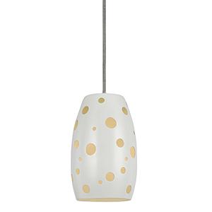 White One-Light Mini Pendant