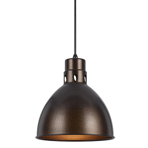 Rust One-Light Pendant