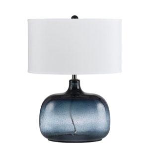Christi Navy Blue Glass Table Lamp
