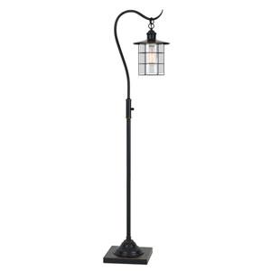 Silverton Dark Bronze One-Light Metal Table Lamp