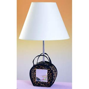 Leopard Purse Children's Lamp