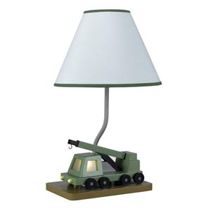 Boom Crane Truck Children's Lamp