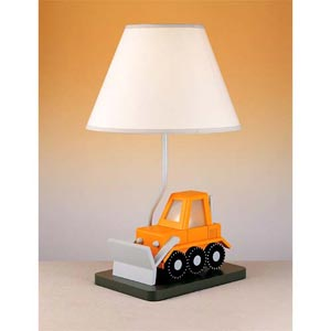 Bulldozer Lamp