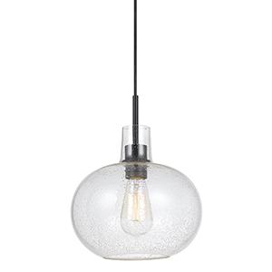 Glass Ten-Inch One-Light Mini Pendant