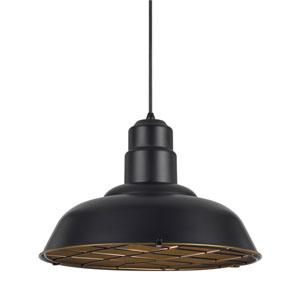 Ashland Dark Bronze One-Light Sixteen-Inch Pendant