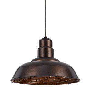 Ashland Rust One-Light Sixteen-Inch Pendant