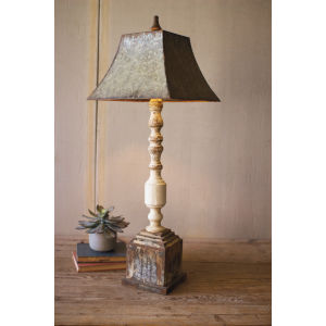 Banister Natural 37-Inch One-Light Table Lamp