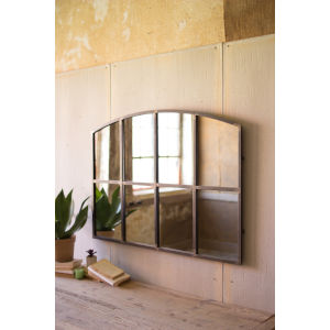 Antique Galvanized 48-Inch Wall Mirror