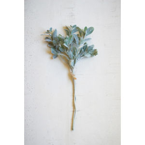 Green Artificial Sage Stem