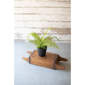 Green Artificial Potted Fern