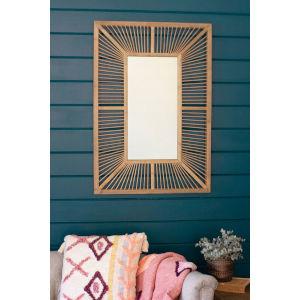 Bamboo Rectangle Mirror