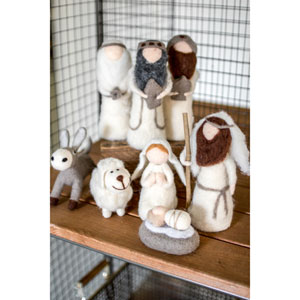 Felt Nativity, Eight Piece Set