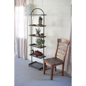 Tall Metal Shelving Unit with 6 Shelves